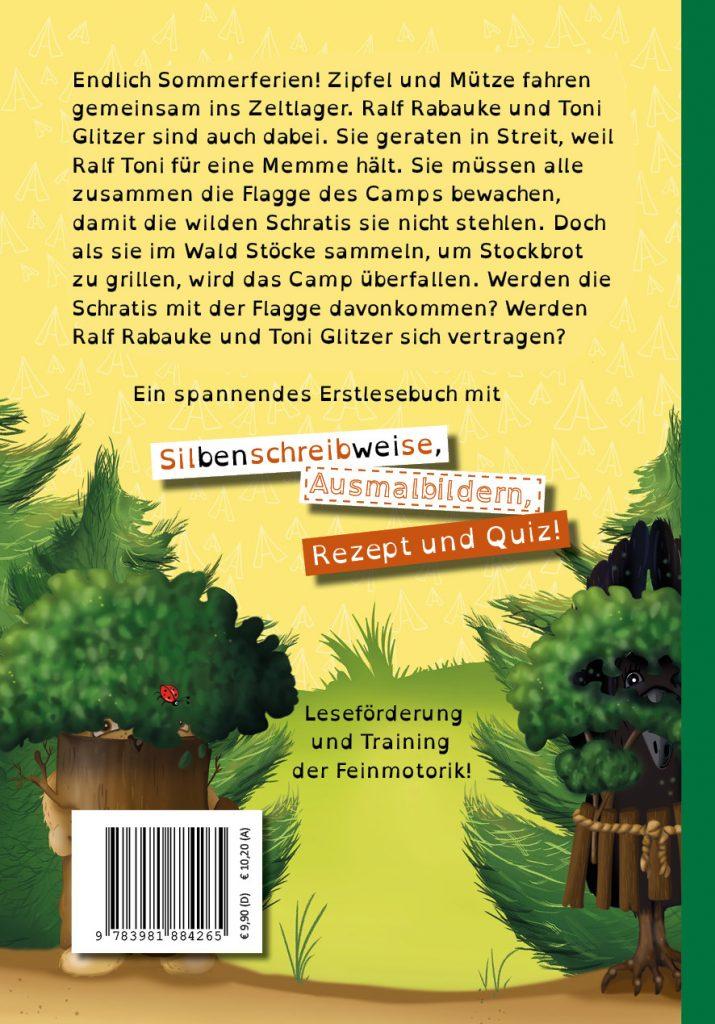 Lesenlernen mit Zipfel und Mütze im Feriencamp Infotext