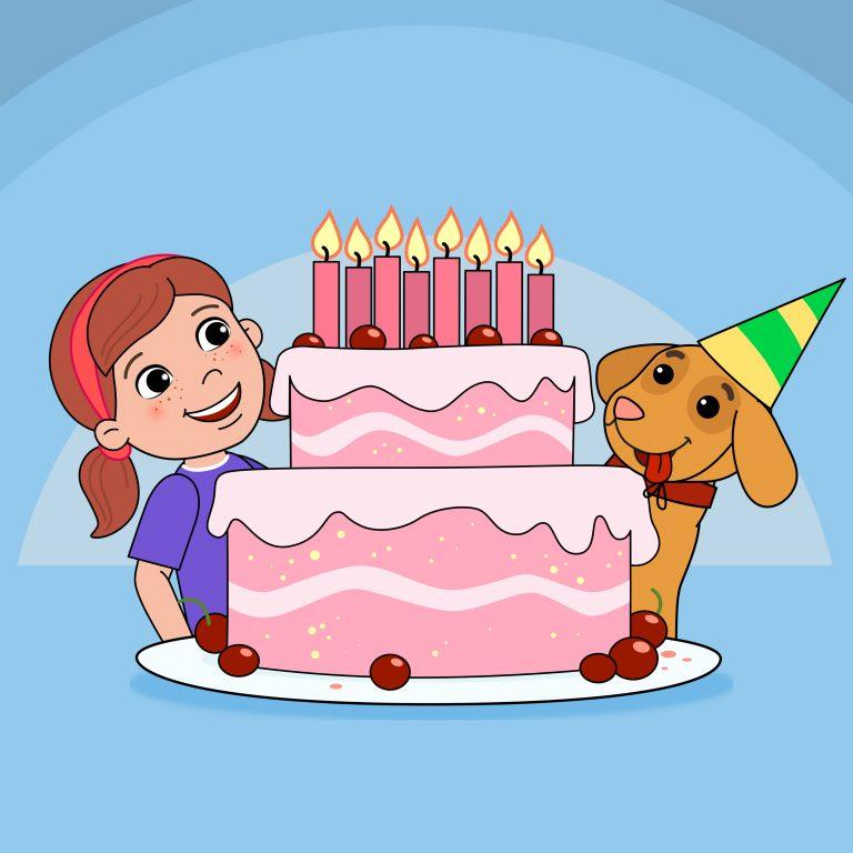 Neues Geburtstagslied für den Kindergeburtstag: Heute ist Dein Tag, 2021