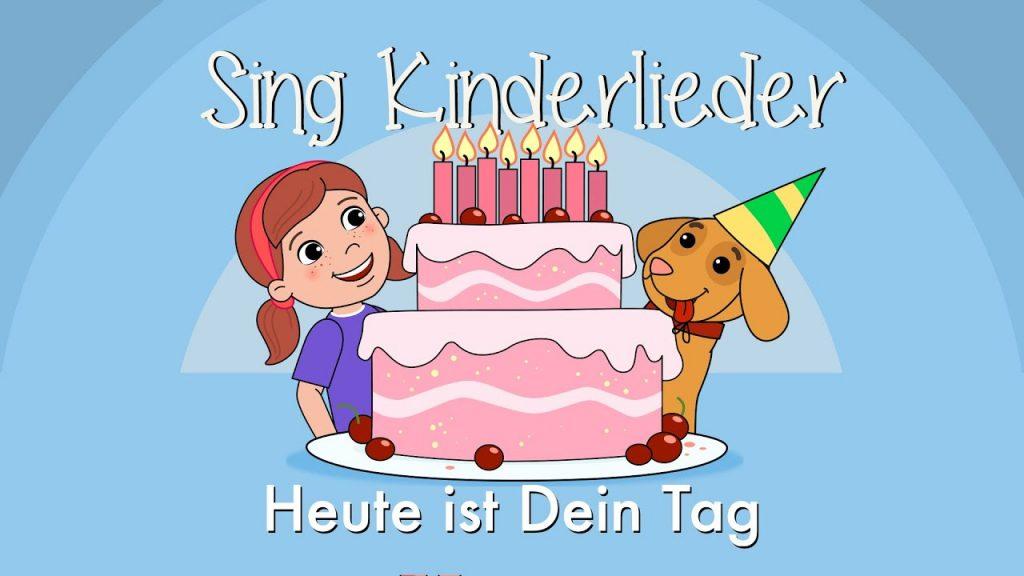 Daniel Dorfkind & Sing Kinderlieder - Geburtstagslied Heute ist dein Tag
